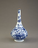 view Bottle-shaped vase, one of a pair with F1982.20 digital asset number 1