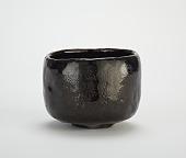 view Tea bowl with design of seedling pines, named <em>Okina</em> digital asset number 1
