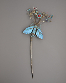 view Hair ornament in the form of a butterfly digital asset number 1