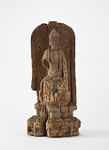 view Figure of a seated Buddha digital asset number 1