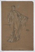view Draped Figure at a Railing digital asset number 1