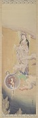 "view Copy after the hanging scroll ""Hibo Kannon"", 1888, by Kano Hogai (1828-1888) digital asset number 1"