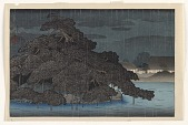 view Evening showers at Matsunoshima, from the series The Mitsubishi villa at Fukagawa digital asset number 1