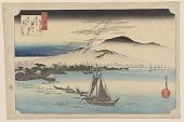 view Katata no rakugan (Geese Descending at Katata), from <em>Eight Views of Omi Province</em> digital asset number 1
