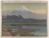 view Morning Sun, from the series Ten Views of Fuji digital asset number 1