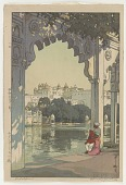 view The Palace of Udaipur, from the series India and Southeast Asia digital asset number 1