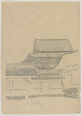"""view Set of six process prints from """"Tenoji Temple in Snow"""" digital asset number 1"""