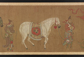 view Central Asians Presenting Tribute Horses digital asset number 1