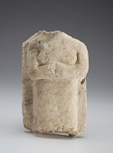 view Stela with torso of a woman, fragment digital asset number 1