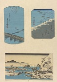 view Three prints: Yoshida Aki no Umi - Landscape digital asset number 1