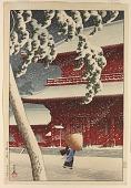 view The Zojo-ji Temple at Shiba digital asset number 1
