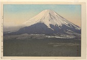 view Ten views of Fuji - Yoshida Mura (1926) digital asset number 1