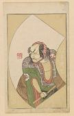 view Book plate from Ehon Butai: Shogyoku as Matsumoto Daishichi digital asset number 1