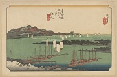 view Facsimile reproduction of Ejiri, from the series, Fifty-three Stations along the Tokaido digital asset number 1