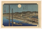 view Tokaido Yoko and Narita Dochu. Published by Sakai in 1919. Complete set of 20 prints. digital asset number 1