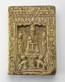 view Small Daoist stele depicting Laojun in a niche digital asset number 1