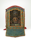view Shrine with Milarepa and five Tseringma sisters digital asset number 1