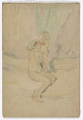 view Woman with a Child (Nude Figure and Cupid) digital asset number 1