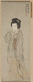 view A standing figure of a woman digital asset number 1