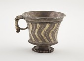 view Wine cup with elephant heads on ring handle digital asset number 1