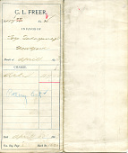 view Record of Charles Lang Freer's purchase of Japanese objects from Takayanagi Tozo digital asset: Record of Charles Lang Freer's purchase of Japanese objects from Takayanagi Tozo