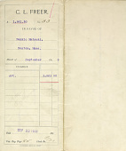 view Record of Charles Lang Freer's purchase of Japanese art objects from Matsuki Bunkio. September 1899 digital asset number 1