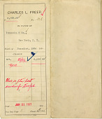 view Record of Charles Lang Freer's purchase of Japanese and Korean works of art from Yamanaka & Co., New York digital asset: Record of Charles Lang Freer's purchase of Japanese and Korean works of art from Yamanaka & Co., New York