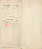 view Record of Charles Lang Freer's purchase of Korean ceramics from Horace N. Allen digital asset: Record of Charles Lang Freer's purchase of Korean ceramics from Horace N. Allen