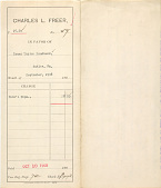 view Record of Charles Lang Freer's purchase of two Chinese paintings from Isaac Taylor Headland digital asset: Record of Charles Lang Freer's purchase of two Chinese paintings from Isaac Taylor Headland