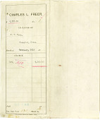 view Record of Charles Lang Freer's purchase of 23 pieces of Chinese jade and 22 paintings from K.T. Wong. February 1, 1918 digital asset number 1