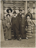 view Freer, Japan, 1895-1911 digital asset: Photographic portraits of Charles Lang Freer
