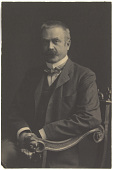 view Photographic portrait of Stanford White digital asset: Photographic portrait of Stanford White