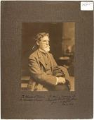 view Photographic portrait of Augustus Saint-Gaudens digital asset: Photographic portrait of Augustus Saint-Gaudens