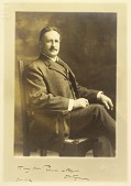 view Photographic portrait of Dwight William Tryon digital asset: Photographic portrait of Dwight William Tryon