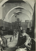 view Synagogue, corridor digital asset: Aleppo: Great Synagogue, interior [graphic]