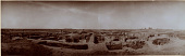 view Excavation of Samarra (Iraq): al-Quraina, House IX: Panoramic View from South [graphic] digital asset number 1