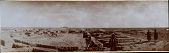 view Excavation of Samarra (Iraq): al-Quraina, House IX: Panoramic View from North [graphic] digital asset number 1