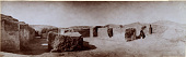 view Excavation of Samarra (Iraq): West of Sur Isa, House XII: Panoramic View of Room 15 and 16, 13 and 14 on the Right [graphic] digital asset number 1