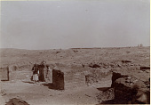 view Excavation of Samarra (Iraq): al-Quraina, House IV: View of Room I, North and West Wing [graphic] digital asset number 1