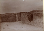 view Excavation of Samarra (Iraq): West of Sur Isa, House XII: Panoramic View of Room 15, South Wing [graphic] digital asset number 1
