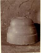view Excavation of Samarra (Iraq): Alabaster Column Base, Found in West of Sur Isa, House XII, Room 1 [graphic] digital asset number 1