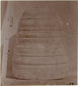 view Excavation of Samarra (Iraq): Alabaster Column Base, Found in al-Quraina, House IX, Room 5 [graphic] digital asset number 1