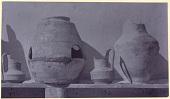 view Excavation of Samarra (Iraq): Unglazed Ceramic Vessels, Found in al-Quraina, House VI, Northeast Room digital asset: Excavation of Samarra (Iraq): Unglazed Ceramic Vessels, Found in al-Quraina, House VI, Northeast Room [graphic]