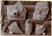 view Excavation of Samarra (Iraq): Fragments of Unglazed Ceramic Vessels, Found in Private House and al-Kura digital asset: Excavation of Samarra (Iraq): Fragments of Unglazed Ceramic Vessels, Found in Private House and al-Kura [graphic]