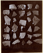view Excavation of Samarra (Iraq): Fragments of Earthenwares with Gold Lustered Glaze digital asset: Excavation of Samarra (Iraq): Fragments of Earthenwares with Gold Lustered Glaze [graphic]