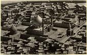 view Excavation of Samarra (Iraq): Aerial View (Royal Air Force) of the Shrine of Imam al-Hadi and Imam al-Askari, and of Ghaibat al-Mahdi digital asset: Excavation of Samarra (Iraq): Aerial View (Royal Air Force) of the Shrine of Imam al-Hadi and Imam al-Askari, and of Ghaibat al-Mahdi, [graphic]