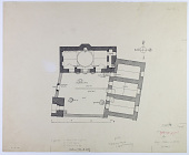view Citadel of Aleppo (Syria): Mosque of Abraham (Lower Maqām Ibrāhīm): Detailed Plan Showing the Locations of Inscriptions [drawing] digital asset number 1