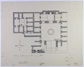 view Aleppo (Syria): Khanqah fi'1-Farafra: Ground Plan [drawing] digital asset number 1