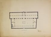 "view D-123: Damascus. Jami' al-Tawba, plan.SA-IV, fig.33 digital asset: Damascus (Syria): al-Tawba Mosque, ""Mosque of Repentance"": Ground Plan [drawing]"
