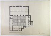 view D-135: Damascus. Jami' al-Aksab, plan.SA-IV, fig.31 digital asset: Damascus (Syria): Mosque of al-Aksab (al-Kasab): Ground Plan [drawing]